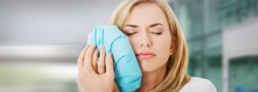 درمان خانگی درد دندان روکش شده